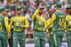 جنوبی افریقہ نے زمبابوے کو دوسرے ٹی ٹونٹی انٹرنیشنل میچ میں 6 وکٹوں ..