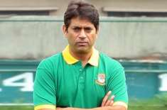 aaqib javed questions fitness standards of pakistan team