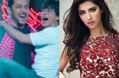 شاہ رخ خان کی فلم'زیرو'کاٹیزر دیکھ کر ماہرہ خان کا حیران رہ گئیں ،ْ ..