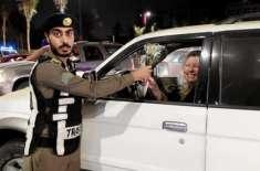 سعودی پولیس کا خواتین ڈرائیورز کو خراجِ تحسین پیش کرنے کے لیے زبردست ..