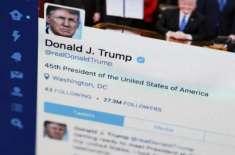 ٹوئیٹر کی جانب سے ٹرمپ کے ایک اور ٹوئیٹ کو اشتعال انگیزی کا لیبل لگا ..