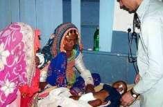 تھرپارکر میں غذائی قلت کے سبب مزید 2 بچے دم توڑ گئے