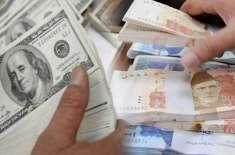 انٹر بینک مارکیٹ میں پاکستانی روپے کے مقابلے میں امریکی ڈالر کی قیمت ..