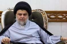 عراقی رہ نما مقتدی الصدر نے حزبِ اختلاف میں جانے کی دھمکی دے دی