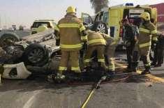 اُم القوین میں ٹرانسپورٹ ٹرکوں کے باعث ٹریفک حادثات میں اضافہ