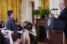 امریکی عدالت کا سی این این کے رپورٹر کا اجازت نامہ بحال کرنے کا حکم