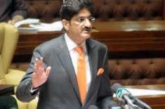پاکستان پیپلزپارٹی کے سید مراد علی شاہ مسلسل دوسری باری سندھ کے وزیراعلی ..