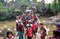 بنگلہ دیش کا ایک لاکھ روہنگیا مہاجرین کو آئندہ ماہ چھوٹے جزیرہ پر منتقل ..