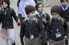سرمائی علاقوں کے سرکاری سکولوں میں موسم سرما کی تعطیلات 24 سے 31 دسمبر ..