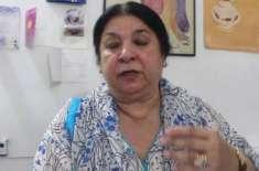 کلوروکوئن سے مریض تیزی سے صحتیاب ہو رہے ہیں، یاسمین راشد