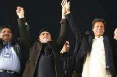 عمران خان اور طاہر القادری کے دھرنے کیخلاف دائر توہین عدالت کی درخواست ..