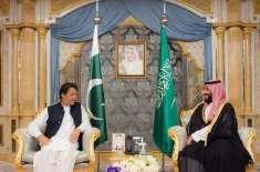 وزیراعظم عمران خان کی سعودی ولی عہد محمد بن سلمان سے ملاقات