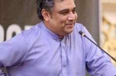 وفاقی وزیر علی زیدی کا اسد عمر کے گھر کے باہر دھرنا دینے کا اعلان