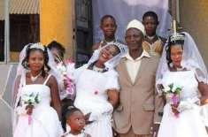 مسلمان دولہا کی ایک ہی وقت میں ایک ساتھ دوبہنوں سمیت تین عورتوں سے شادی