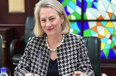 امریکی معاون نائب وزیرِ خارجہ برائے جنوبی و وسط ایشیائی امور ایلس ویلز ..