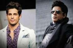 سدھارت ملہوترا شاہ رخ خان کے مداح نکلے