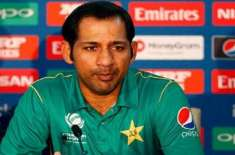 need to take catches: sarfraz ahmed