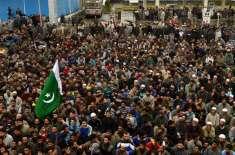 بھارتی فورسزکی فائرنگ سےشہیدکشمیری نوجوان کے جنازے میں شریک لاکھوں ..