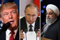 ایرانی تیل پر امریکا اور روس میں کشیدیدگی