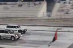 متحدہ عرب امارات میں گاڑیوں کی ریس لگانے والوں کے بُرے دِن شروع