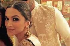 بالی وڈ کی اداکارہ دپیکاپدوکون اوراداکاررنویرسنگھ نےشادی کرلی