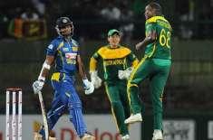 گالے ٹیسٹ، سری لنکن سپنرز کی تباہ کن بائولنگ، جنوبی افریقہ کی ٹیم پہلی ..