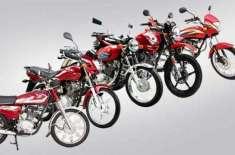 ملک میں موٹر سائیکلوں اور رکشوں کی پیداوار اور فروخت میں مالی سال کے ..
