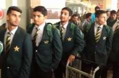 انڈر 19 ایشیا کپ کرکٹ ٹورنامنٹ، پاکستان کا ہانگ کانگ کو 9 وکٹوں سے ہرا ..