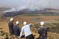 شامی باغی گولان کا قریبی علاقہ چھوڑنے پر آمادہ،ہتھیا ر بھی ڈال دیئے