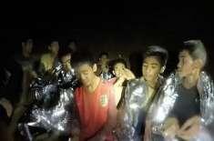 معجزانہ لمحات تھے جب غوطہ خوروں نے ہمیں ڈھونڈ نکالا،غاروں میں پھنس ..