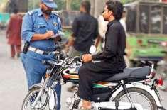 پنجاب پولیس کاٹریفک کے نظام کو بہتر بنانے کیلئے عوام پر مزید بوجھ ڈالنے ..
