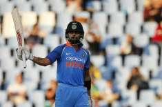 پاک بھارت میچ ،کوہلی نے گیارہ ہزا ررنز کا سنگ میل عبور کر کے ٹنڈولکر ..