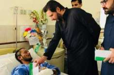 shahid afridi arrive in quetta to meat mastung blast victims