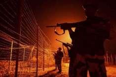 بھارتی فوج کی پھر بلا اشتعال فائرنگ ، پاک فوج کا ایک سپاہی اور چھ شہری ..