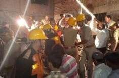 بھارت،کالج کی زیر تعمیر عمارت منہدم، 3ہلاک،14زخمی