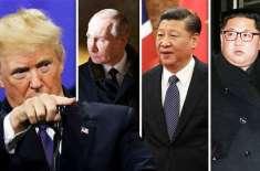 چین'روس کا امریکی تجویز پر شمالی کوریا کی تیل ترسیل بند کرنے سے انکار