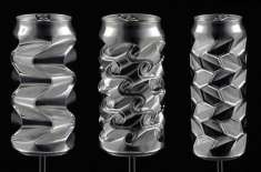 Artist Sculpts Aluminum Cans into Insanely Detailed Artworks Using Only His Thumbs