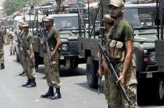 پاکستان رینجرز نے کارروائی کرتے ہوئے مشتبہ دہشت گردوں کو گرفتار کرکے ..