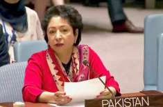 اقوام متحدہ کاچارٹرجنگی خطرات سے سلامتی کاباعث ہے'ڈاکٹر ملیحہ لودھی
