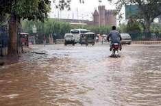 سجاول میں بارش کے بعد نشیبی علاقوں میں پانی کھڑا ہوگیا، 10 گھنٹے تک بجلی ..
