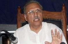 پاکستان تحریک انصاف نے ڈاکٹر عارف علوی کو بطور صدر نامزد کر دیا