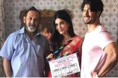 ودیوت جموال اور شروتی ہاسن کی ہدایتکار مہیش منجریکر کی فلم کی عکسبندی ..