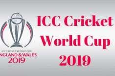 ورلڈ کپ 2019 5براعظموں کے 21ملکوں کیلئے طویل ترین ٹرافی کا سفر کا شیڈول ..