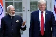 امریکی صدر کا بھارتی وزیراعظم سے ٹیلی فونک رابطہ