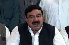 ریلوے پاکستان کی ایک ایک انچ زمین سے قبضہ ختم کرائیں گے،شیخ رشید احمد