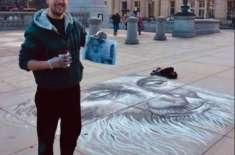 لندن کے سٹریٹ آرٹسٹ کا عبدالستار ایدھی کو انوکھا خراج عقیدت