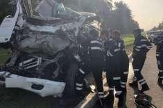 ابوظہبی:ٹریفک حادثات میں ڈرائیور کی ہلاکت، 6 افراد زخمی