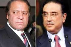 Nawaz, Zardari in talks for forming coalation government