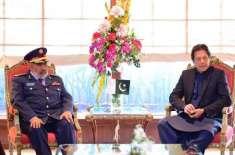وزیراعظم عمران خان سے قطر کی مسلح افواج کے چیف آف سٹاف لیفٹیننٹ جنرل ..