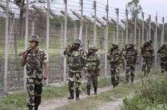 بھارت نے پاکستانی سرحد پر جدید باڑ لگانا شروع کردی